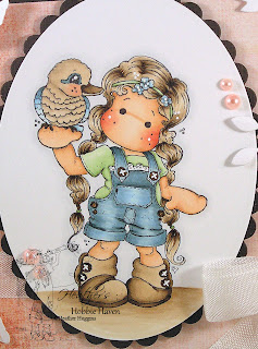 Heather's Hobbie Haven -  Tilda with Her Kookaburra Card Kit
