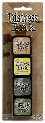 Tim Holtz - Distress Ink Pad Mini Kit #10
