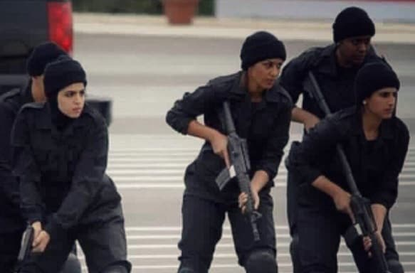 SAUDI WOMEN TO JOIN MILITARY FORCE