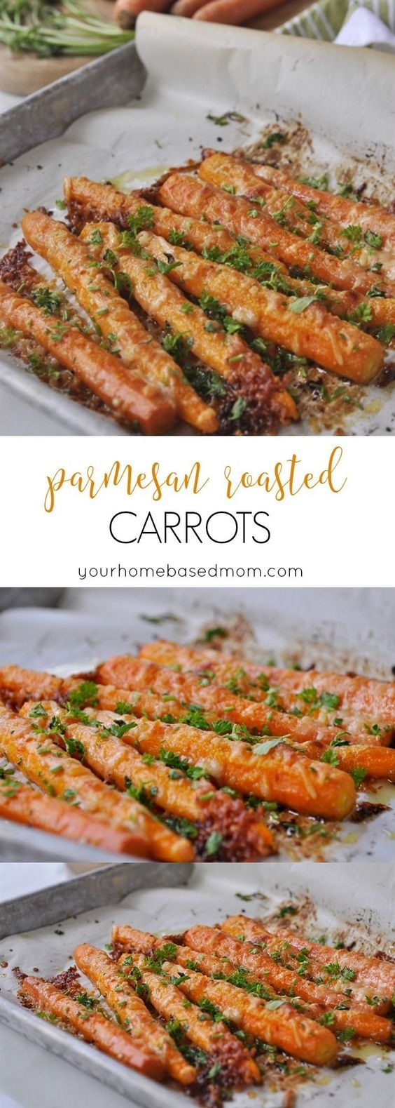 Parmesan Roasted Carrots