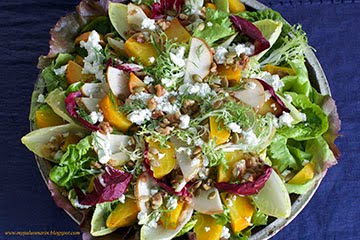 Winter Walnut, Beet & Pear Salad