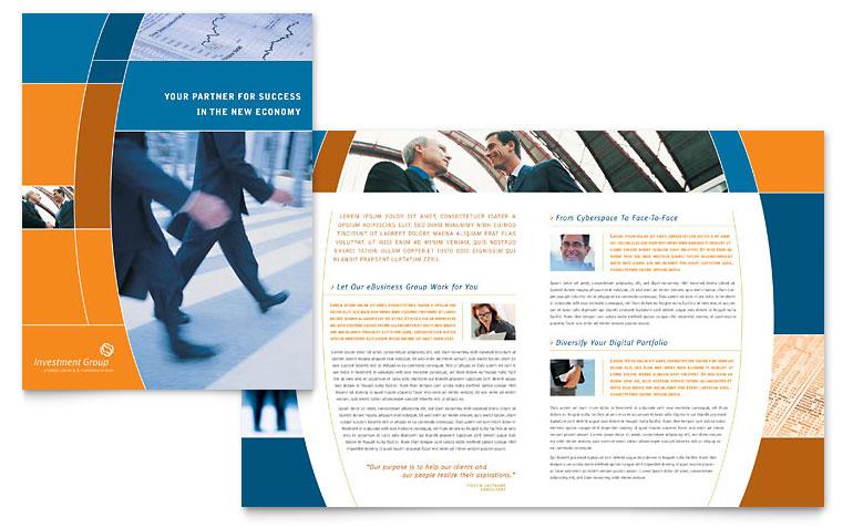 handout free tri fold blank printables secretarial services tri – Free Brochure Templates Word