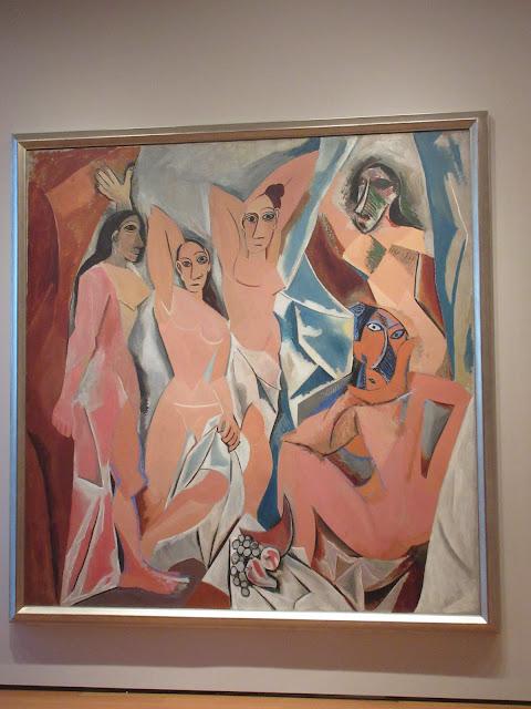 Las Señoritas de Avignon, Picasso, MOMA, Museum of Modern Art, New York,  Elisa N, Blog de Viajes, Lifestyle, Travel