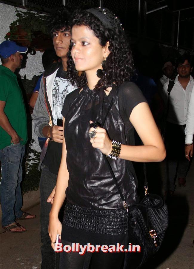 , Sarah Jane Dias, Salman Khan at Screening of O Teri