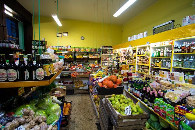 Negozio alimentari-Cracovia