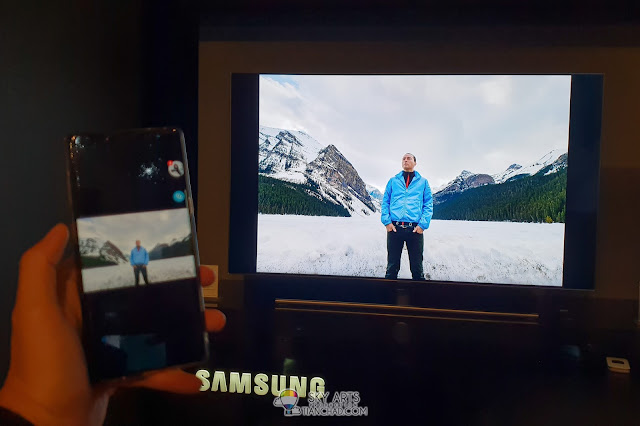 Samsung 2018 QLED TV launch in Malaysia - SmartThings Broadcast Sharing Alaska Owen Yap#TCTravel