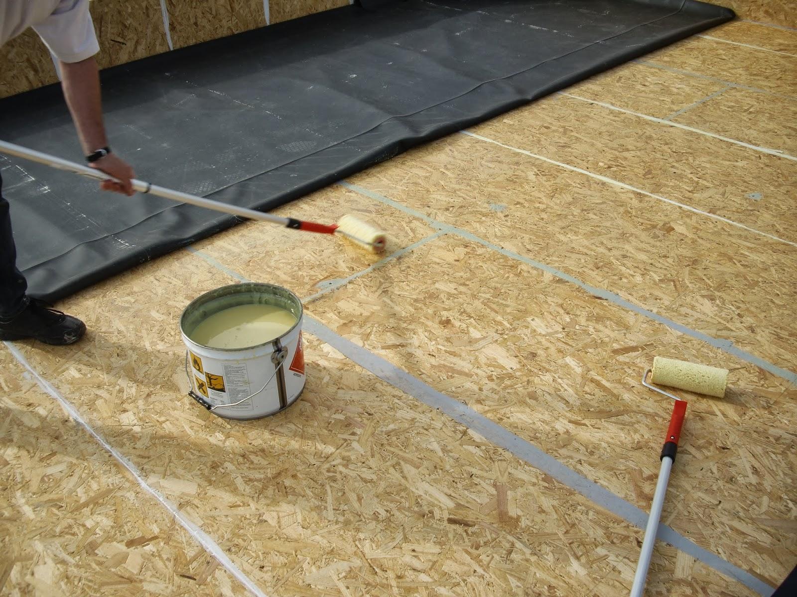 good faire une toiture plate 13 seconde tape m langer. Black Bedroom Furniture Sets. Home Design Ideas