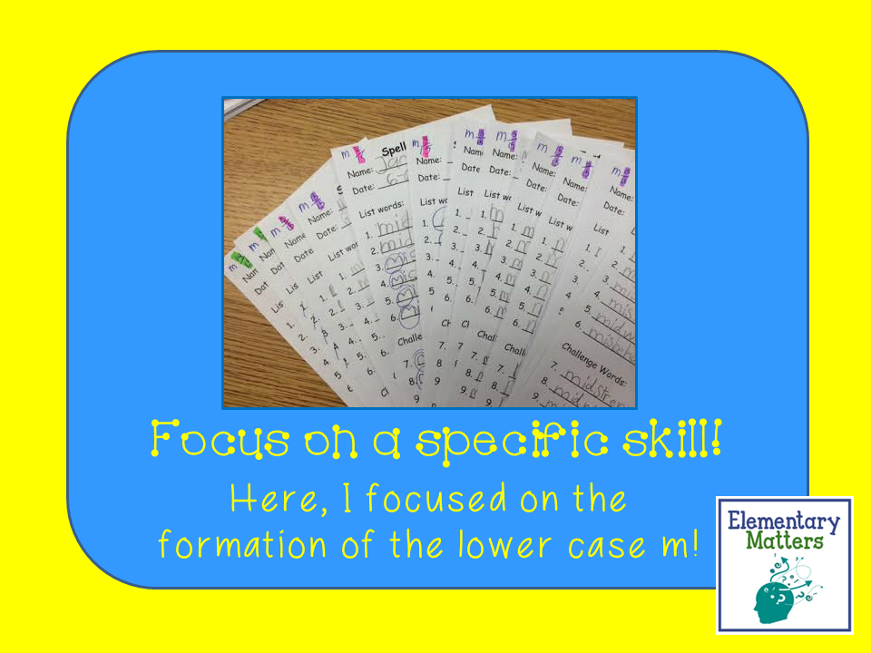 Quick, Easy, Honest Feedback: Here's an idea that will save time in the classroom, make your life easier, and give the kiddos the information they need to grow!