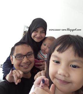 Keluarga Arisandy Joan Hardiputra Pilgub Jatim 2018