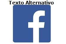 Icono de Facebook y cómo añadir el texto alternativo
