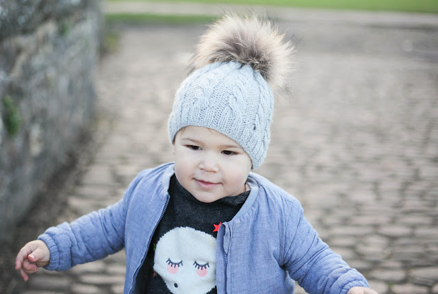 stylish toddler