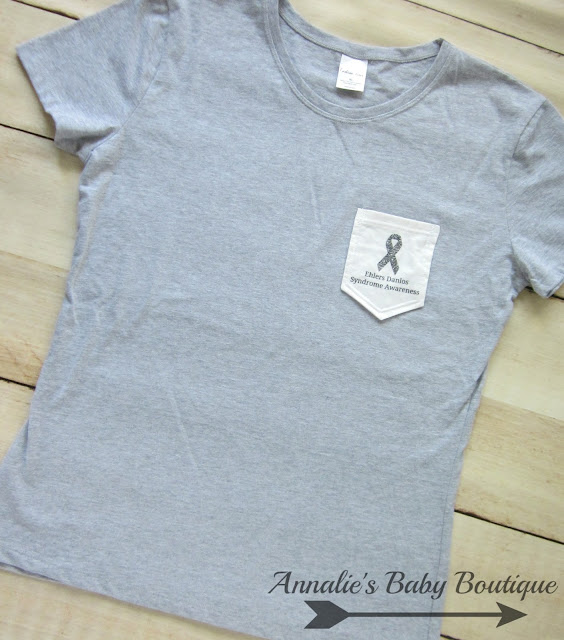 Ehlers Danlos Awareness Pocket T-shirt