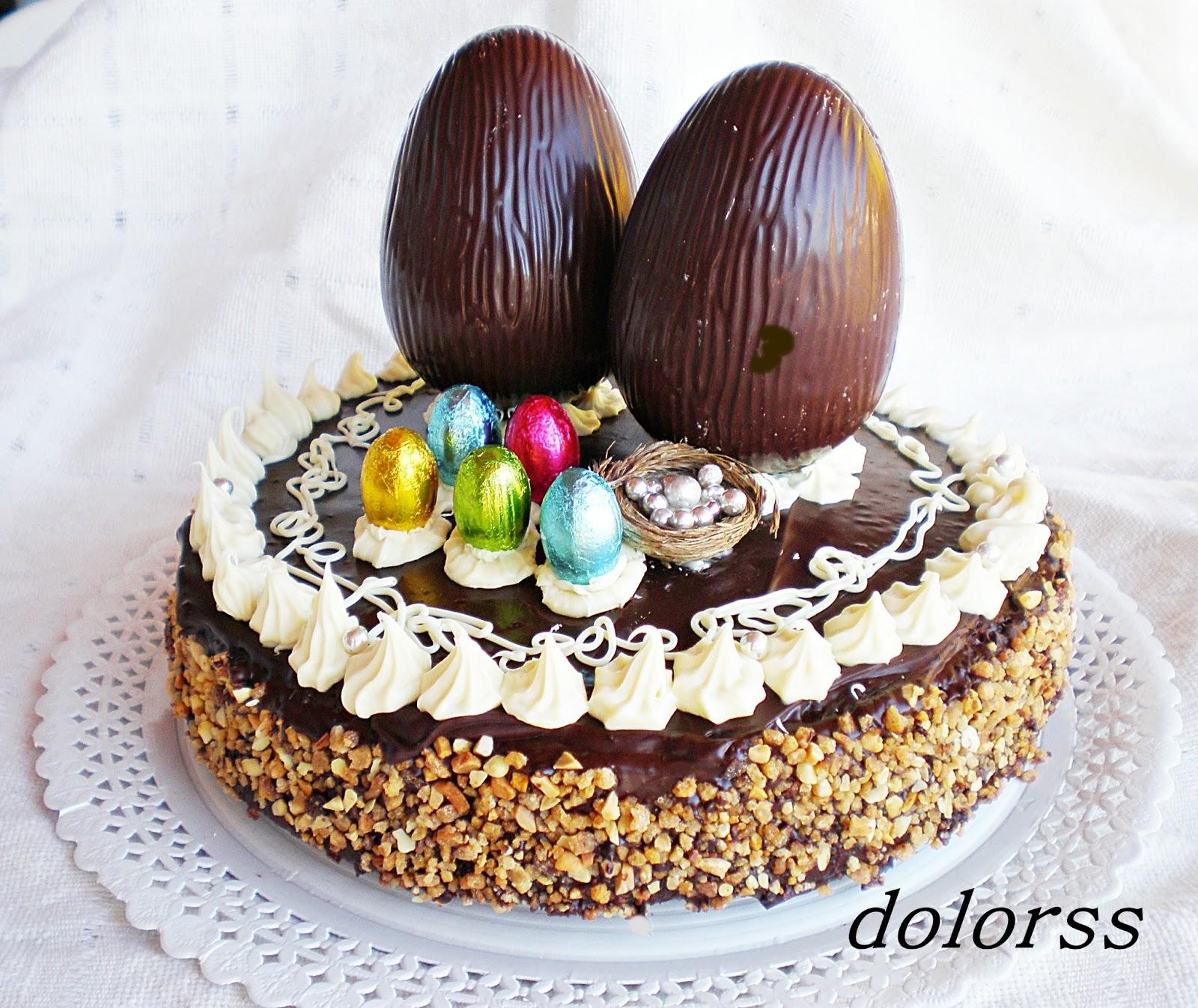 Mona de Pascua de chocolate