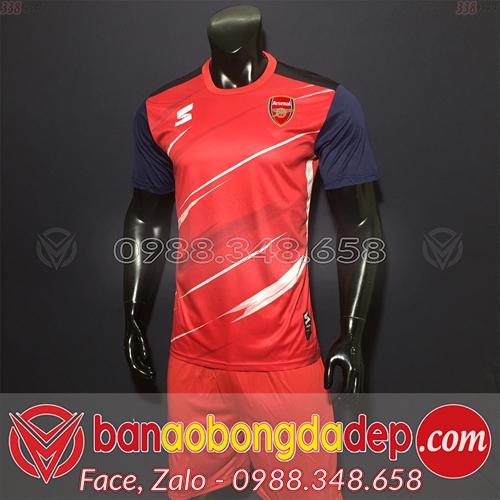 Áo Arsenal Training 2019 - Mã ARSLM01 Đỏ