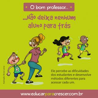 O bom professor Não deixa nenhum aluno para trás