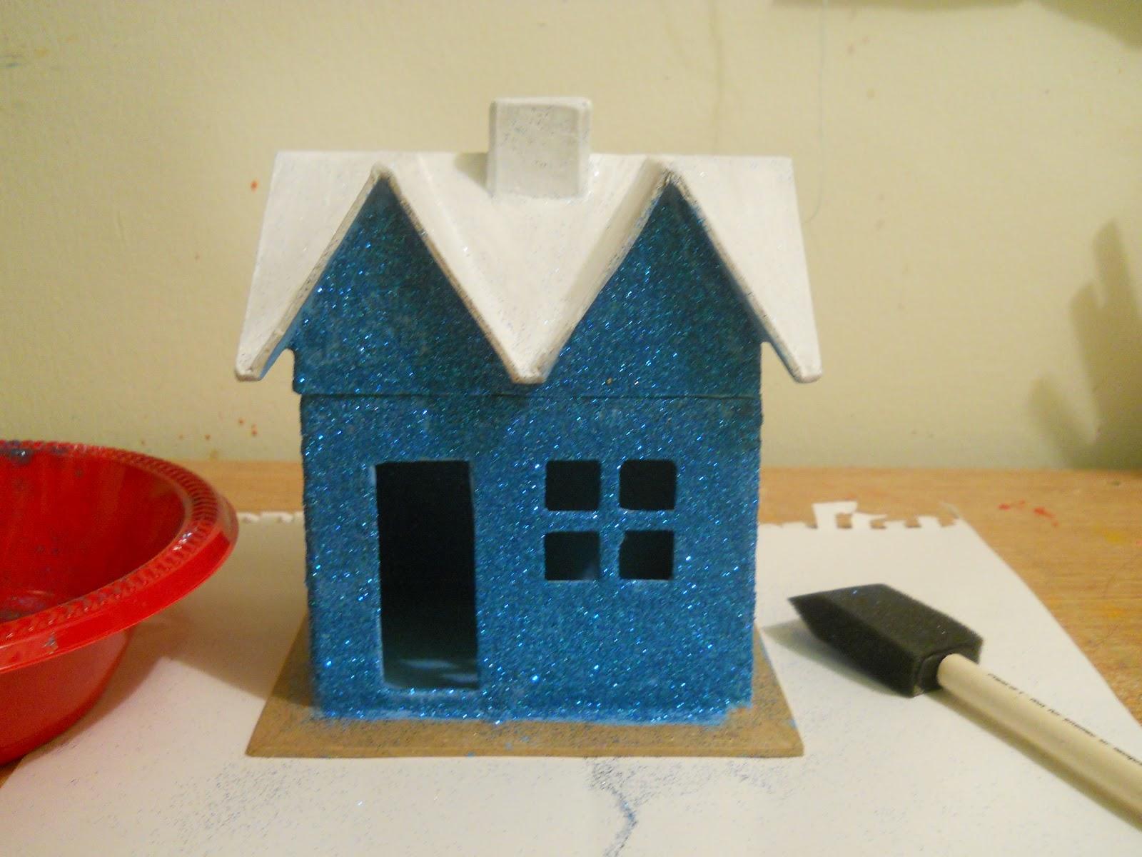 Winter Wonderland House DIY - Running With A Glue Gun