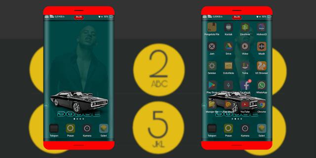 Download Tema Oppo A39 Terbaru dan Terkeren - Dark Die