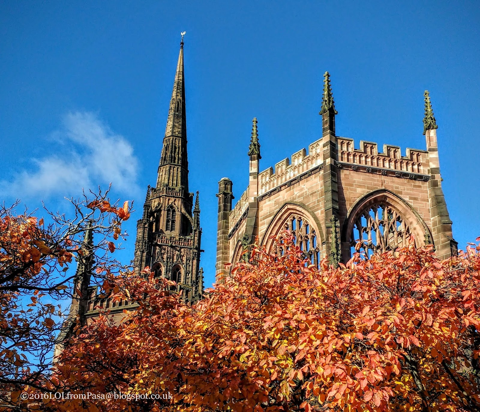 Places To Visit Coventry Uk: Today Around Coventry: Autumn In Coventry
