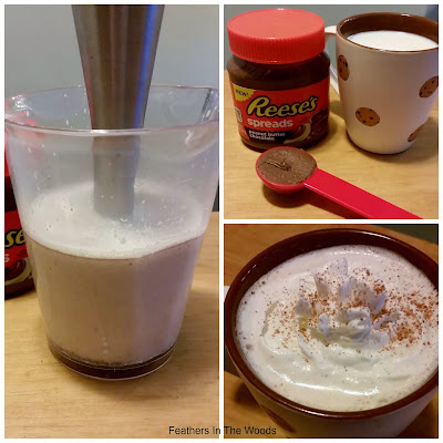 peanutbutter hot chocolate recipe