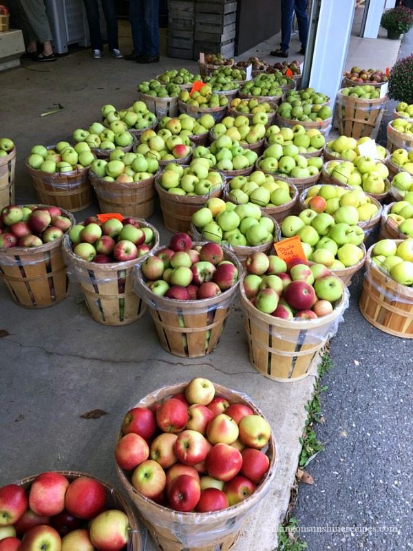 Apples from Heckman's Orchards September 2017 from Walking on Sunshine Recipes