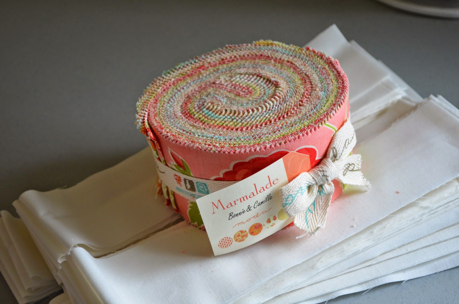 Marmalade jelly roll