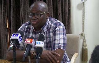 'Declare President incapable of performing his duties,' Fayose tells FEC