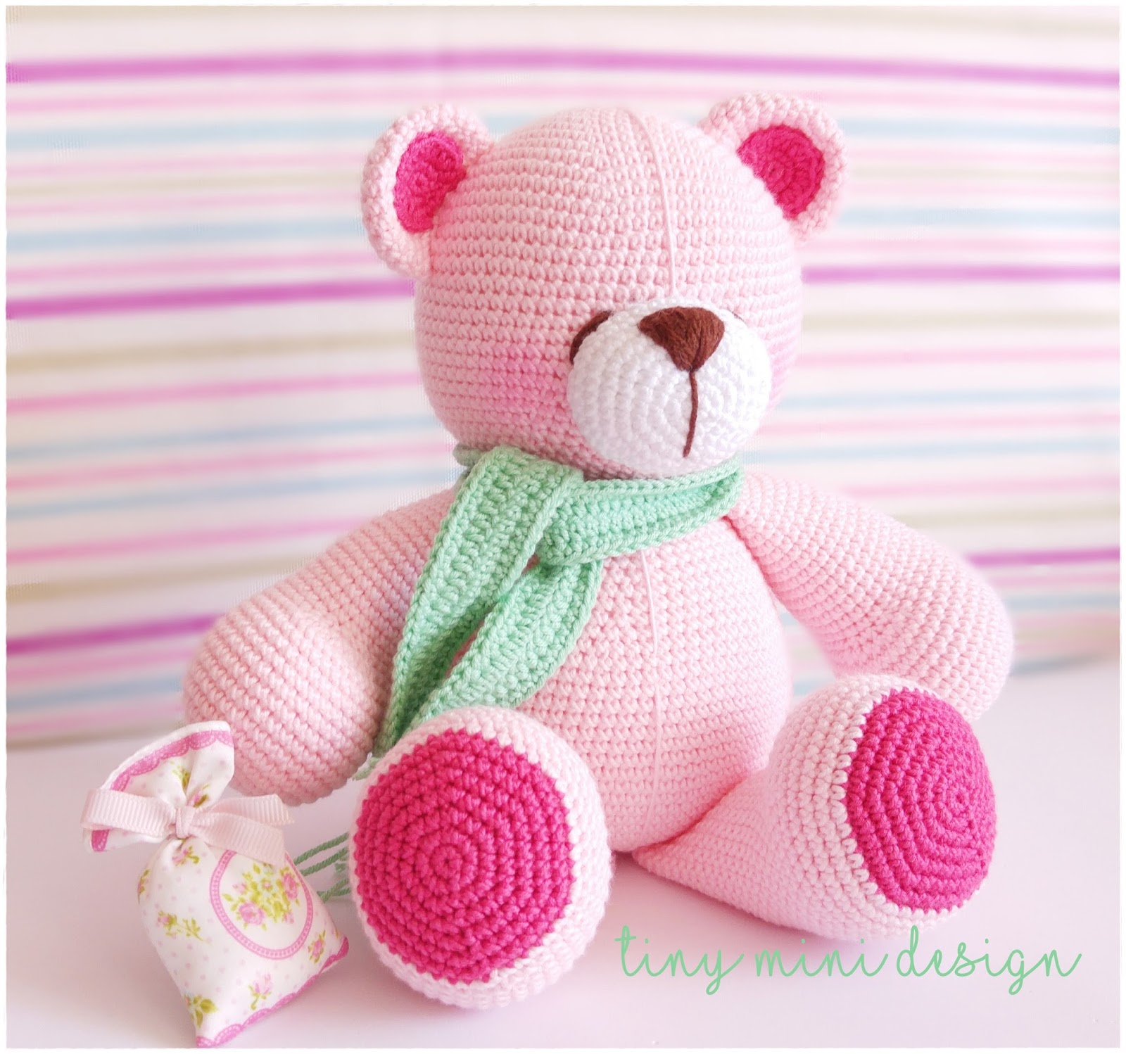 Amigurumi Pink Bear : Amigurumi Pink Bear - Knitting, Crochet, Diy, Craft, Free ...
