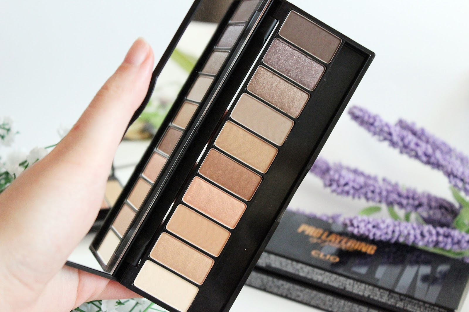 CLIO, Pro Layering Eye Palette #Orginality and #Handcraft