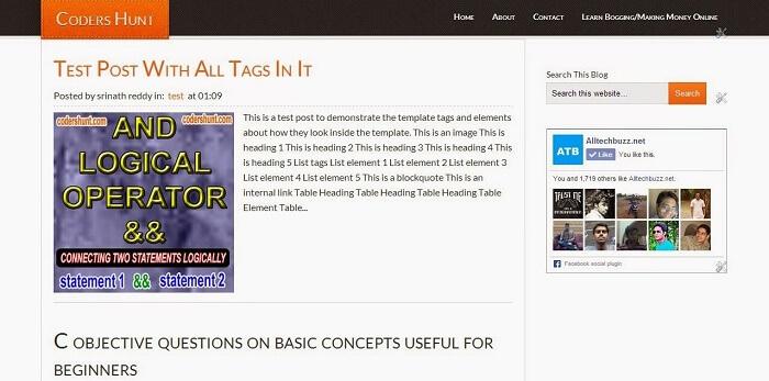 Eleven40 Blogger Template, AdSense Friendly Blogger Template, Best SEO Optimized Blogger Template