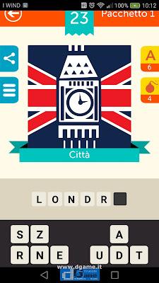 Iconica Italia Pop Logo Quiz soluzione pacchetto 1 livelli 23-25