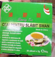 poza ceaiului swan care elimina surplusul de kilograme