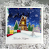 Snowy Village card