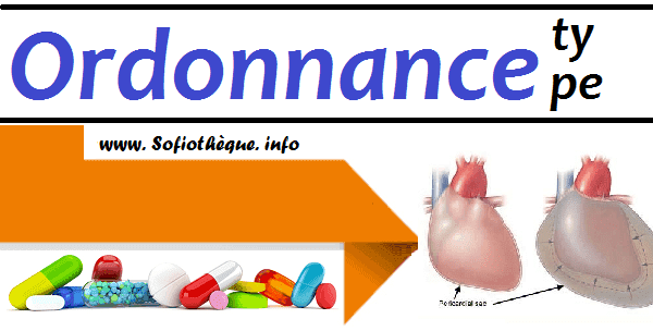 Ordonnance Type | Péricardite aiguë