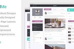 Download Template Wordpress SocialMe Free Premium Theme