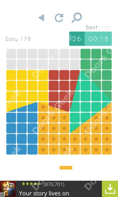 Cheats, Walkthrough for Blocks and Shapes Level 178