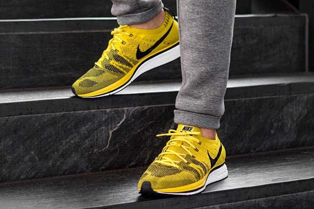 3b9d8c0a4cfd First Look  Nike Flyknit Trainer Bright Citron