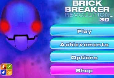 Game iPhone: 3D Brick Breaker Revolution