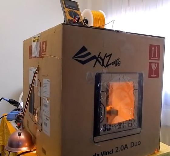DIY 3D Printing: Cardboard Box 3D Printer Enclosure