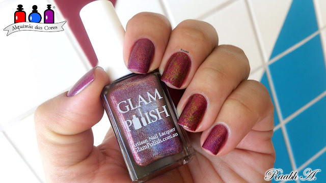 Glam Polish, Glam Polish Queen of Mean Colletion, Glam Polish B!*ch Stole My Look, Holo Polish, Esmalte Holográfico, EDK Chewie, BP-L043, Esmalte Indie, Raabh A., Indie Polish,