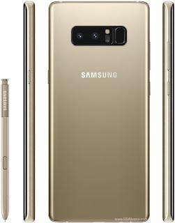 Samsung Galaxy Note8 Spesifikasi Kamera Belakang Dual 12 MP
