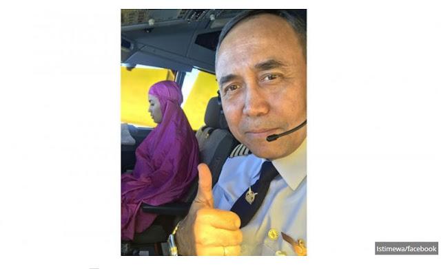 Subhanallah, Kopilot Muslimah Ini Tetap Laksanakan Shalat di Kokpit Pesawat