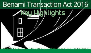 Key-Highlights-Benami-Transactions-Act-2016-Introduction