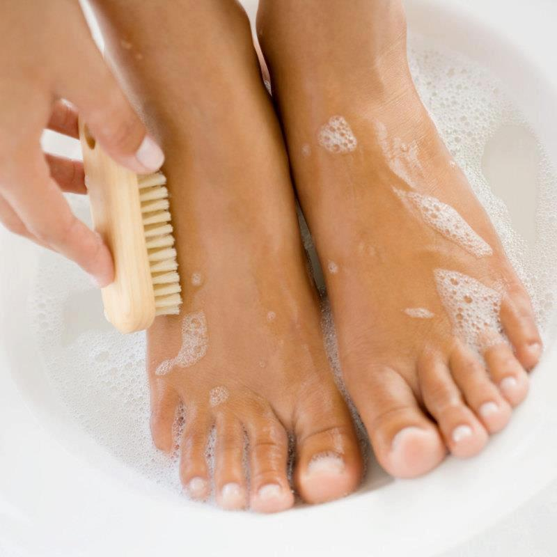 Very Small Beautiful Bathrooms: Frugalicious Chick: Beautiful Feet For Very Little Money
