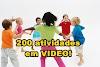 200 atividades para Educação Física Escolar - EM VIDEO!