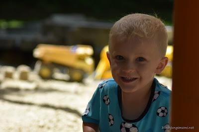 glückliche Kinder im Hotel Sonnenpark