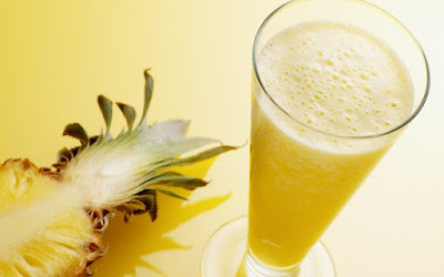 Suco detox de abacaxi -  Para desintoxicar o fígado