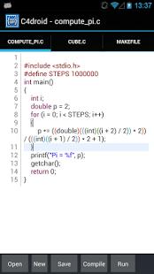C4droid Apk (C/C++ compiler & IDE) Pro