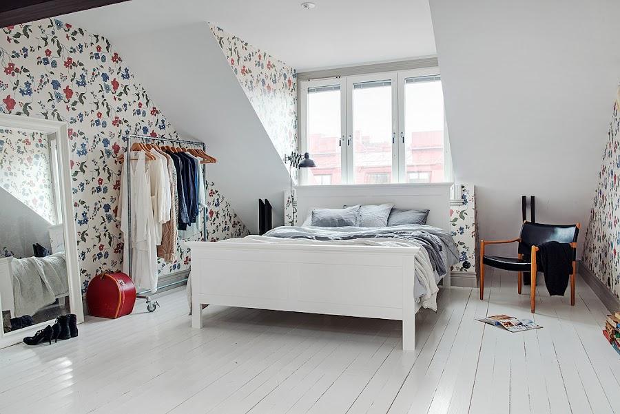 un dormitorio encantador