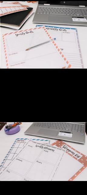 Blog Planner Printables 2018 -FREE