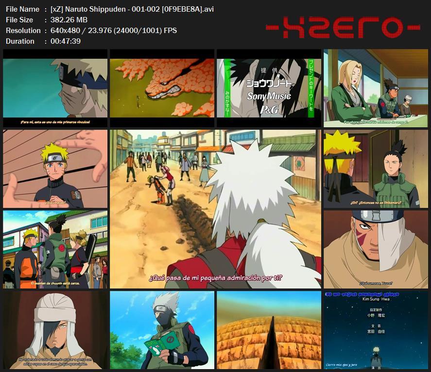Capturas Naruto Shippuden